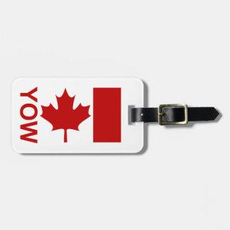 Ottawa YOW Luggage Tag (add your contact info)