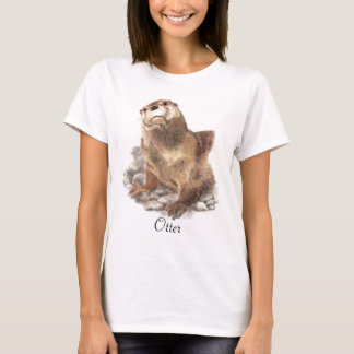 Otter Animal Totem T-Shirt