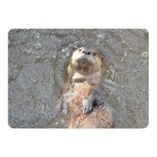 Otter Back Float Card