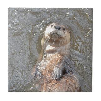 Otter Back Float Ceramic Tile