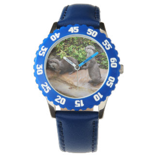 Otter,_Be_Talking_Kids_Blue_Numbered_Watch. Wristwatches