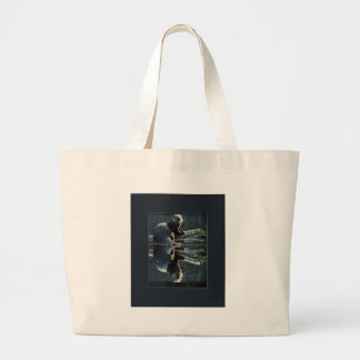 Otter Beauty Wild Otter Photography Large Tote Bag