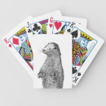 Otter Bicycle Playing Cards