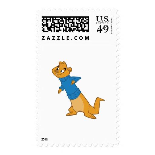 Otter Boy Blue Postage