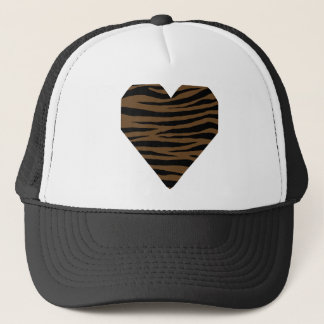 Otter Brown Tiger GH Trucker Hat
