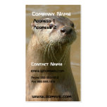 Otter Business Card