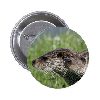 Otter Button Badge