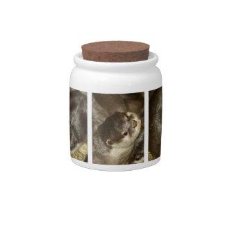 Otter Candy Jar
