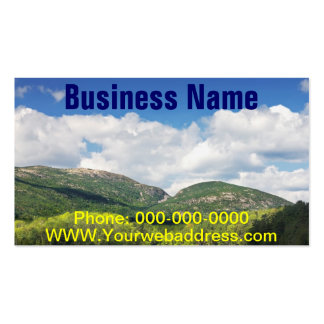 Otter Cove And mountains Acadia National Park Business Card