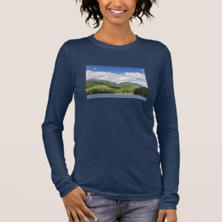 Otter Cove And mountains Acadia National Park Long Sleeve T-Shirt
