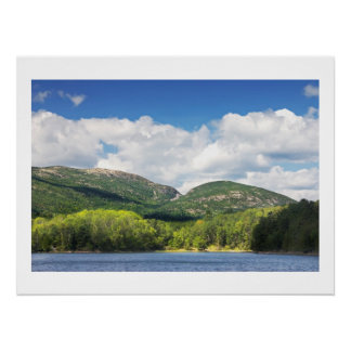 Otter Cove And mountains Acadia National Park Poster