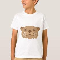 otter face T-Shirt