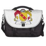 Otter Family Crest Bag For Laptop