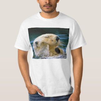 Otter in the pool tee shirt