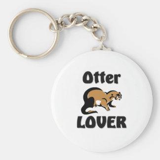 Otter Lover Keychain