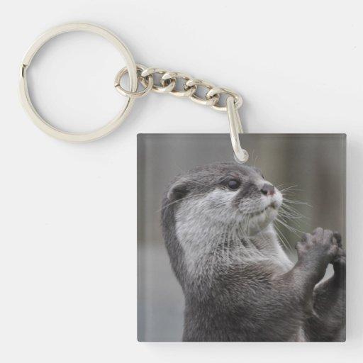 Otter Mastermind Acrylic Keychain