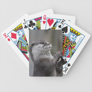 Otter Mastermind Deck of Cards Bicycle Playing Cards