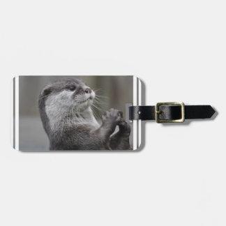 Otter Mastermind Luggage Tag