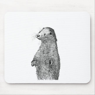 Otter Mouse Pad