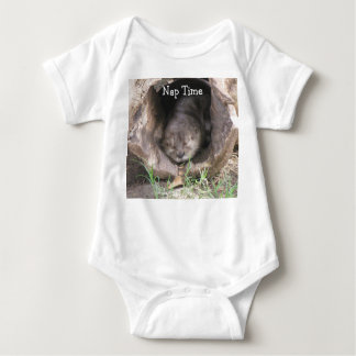 Otter Napping Baby Outfit T-shirt