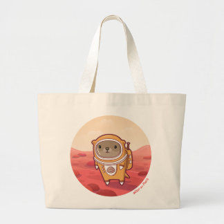 "Otter on Mars ""Hello There"" Jumbo Tote"
