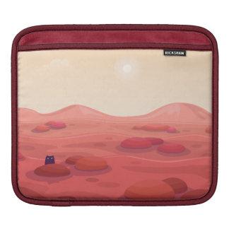 """Otter on Mars """"Life on Mars"""" iPad Sleeve"""