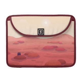 """Otter on Mars """"Life on Mars"""" Macbook Pro Sleeve"""