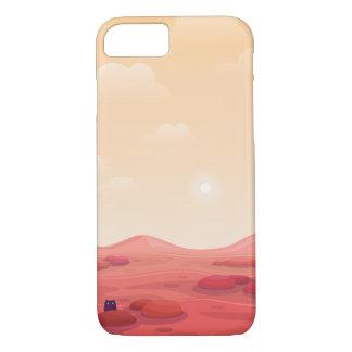 """Otter on Mars """"Life on Mars"""" Phone Case"""