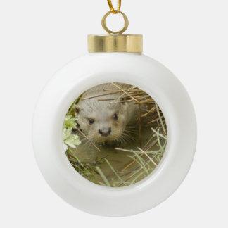 Otter Ornament