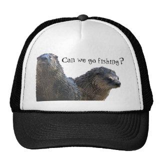 otter, otter 2, Can we go fishing? Trucker Hat