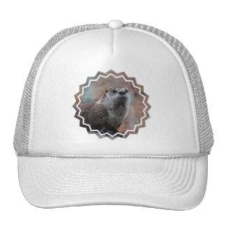 Otter Photo Baseball Hat