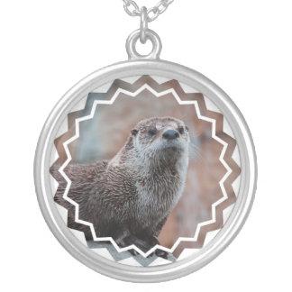 Otter Photo Necklace