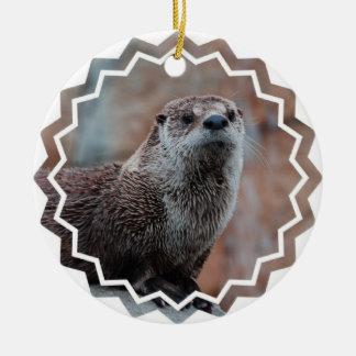 Otter Photo Ornament