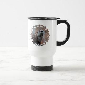 Otter Photo Plastic Travel Mug