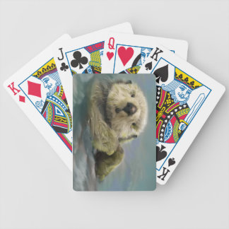 Otter PLaying Cards