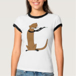 Otter Playing the Flute T Shirt