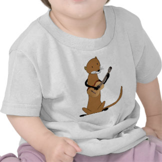 Otter Playing the Guitar Tshirt
