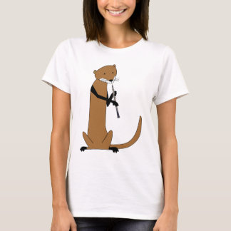 Otter Playing the Oboe T-Shirt