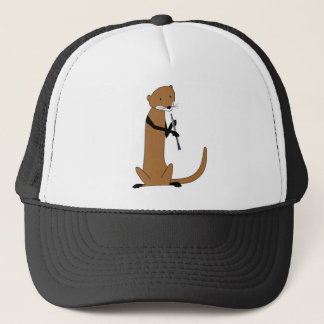 Otter Playing the Oboe Trucker Hat