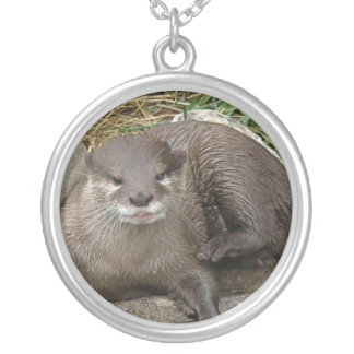 Otter Resting Necklace