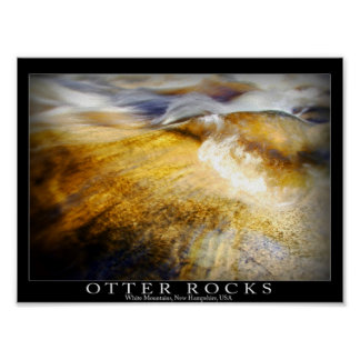 Otter Rocks - New Hampshire Poster