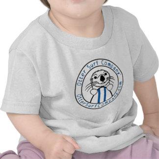 Otter Surf Company - mameluco del bebé Camisetas