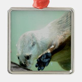 Otter Swimming Ornament