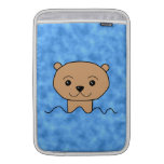 Otter Swimming. Sleeves For MacBook Air