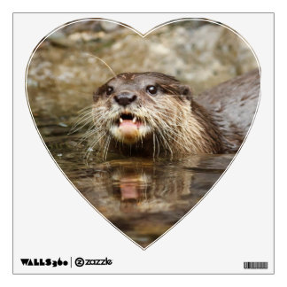 Otter Wall Decal