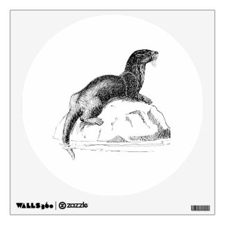 Otter Wall Sticker