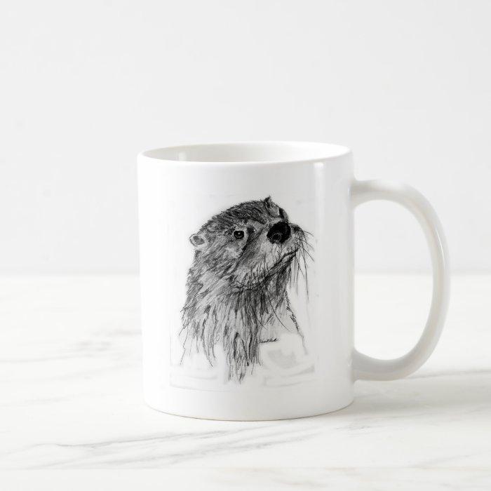 Otter Whiskers Coffee Mug