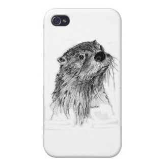 Otter Whiskers iPhone 4/4S Case