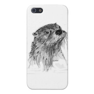 Otter Whiskers iPhone SE/5/5s Cover