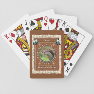 Otter  -Woman Medicine- Classic Playing Cards
